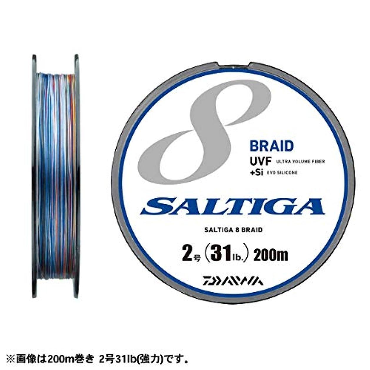 オリエンタルに対処するパドルダイワ(Daiwa) PEライン UVF ソルティガセンサー 8ブレイド+si 300m 3号 40lb マルチカラー