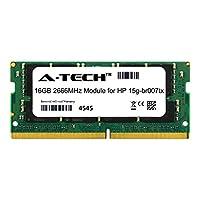 A-Tech 16GB モジュール HP 15g-br007tx ノートパソコン & ノートブック用 DDR4 2666Mhz メモリラム対応 (ATMS382122A25832X1)