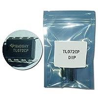 50PCS TL072CP DIP8 TL072 TL072CN ICオペアンプデュアルJFETローノイズ新オリジナル[]
