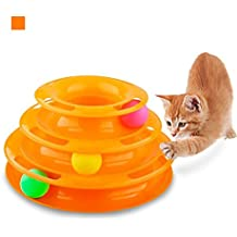 PetiJoy Tower of Tracks Interactive Cat Toy