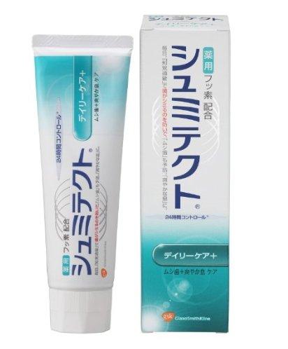 アース製薬 シュミテクト デイリーケア+ 90g×72点セット  医薬部外品 フッ素配合歯磨き