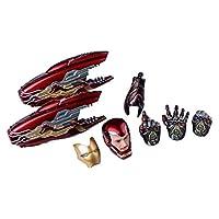 Tony 1/12スケール フィギュア SHF アイアンマン マーク85 (アベンジャーズ/エンドゲーム) 改造用 ヘッド 武器 パーツセット