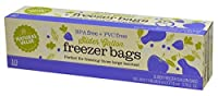 Natural Value Slider Freezer Bags, 10 count by Natural Value