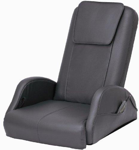 スライヴ 座椅子マッサージャー くつろぎ指定席 チャコールグレー CHD-661(CH)