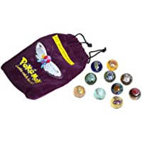 Pokemon Collector Marble Pouch Series 2: #12 Butterfree (Includes 10 Marbles)