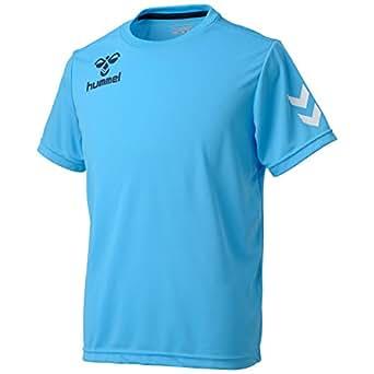 (ヒュンメル)Hummel ワンポイントドライTシャツ HAY2061 67 ライトブルー L