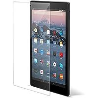 CASEBANK Amazon kindle Fire HD10 (Newモデル) 強化 ガラスフィルム 高感度タッチ 気泡ゼロ 0.33mm 日本旭硝子 全面ガラスフィルム 液晶保護 指紋防止 3Dラウンドエッジ 9H 高透明 クリア TGP-AFHD10-809