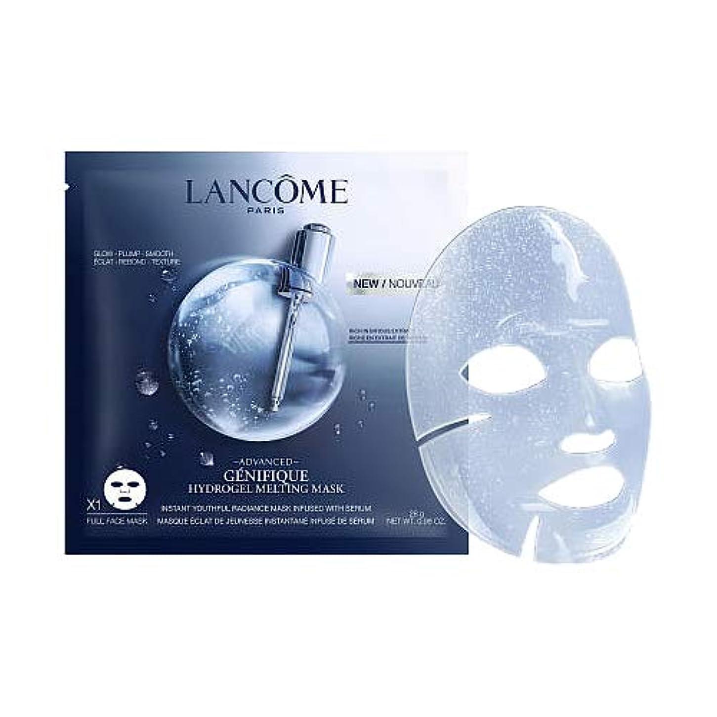 ツール番目スクラブランコム LANCOME ジェニフィック アドバンスト ハイドロジェル メルティングマスク 1枚x28g [並行輸入品]