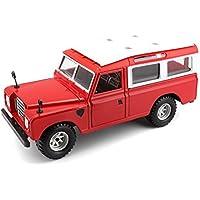 1/24 Burago Land Rover Rot 22063
