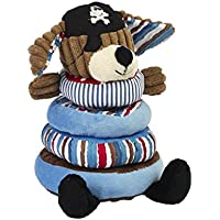 Maison Chic Patch the Pirate Dog Stacking Toy, 8.5