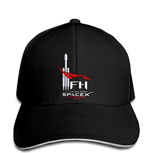 ヒップホップ野球キャップ高速船 Spacex 社ロケットスペースファルコンヘ...