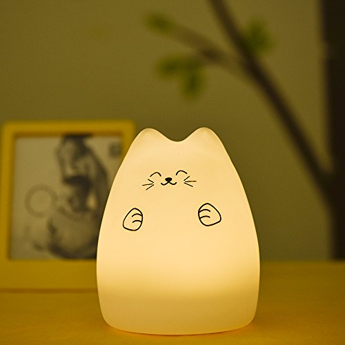 LUNSY ベッドサイドライト 萌えニャンコランプ デスクラ...
