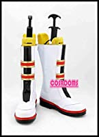 (COSROOMS)あんさんぶるスターズ! 流星隊 バトンタッチ!涙と絆の返礼祭 守沢千秋 コスプレ靴 ブーツ