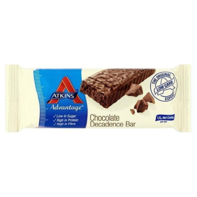 スリット船罪人アトキンス利点チョコの退廃の60グラム (x 6) - Atkins Advantage Choc Decadence 60g (Pack of 6) [並行輸入品]