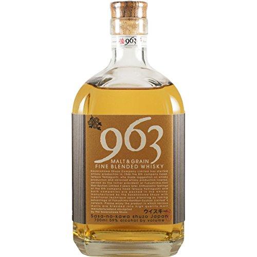 笹の川酒造 ブレンデッド ウィスキー 963  700ml