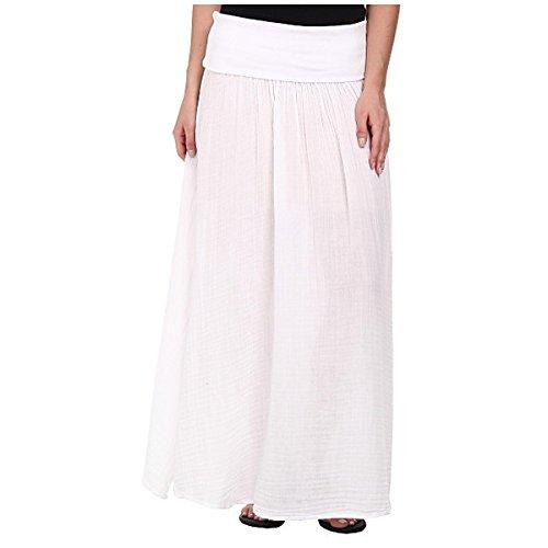 (スリードッツ) Three Dots レディース ボトムス スカート Maxi Skirt w/ Side Slit 並行輸入品