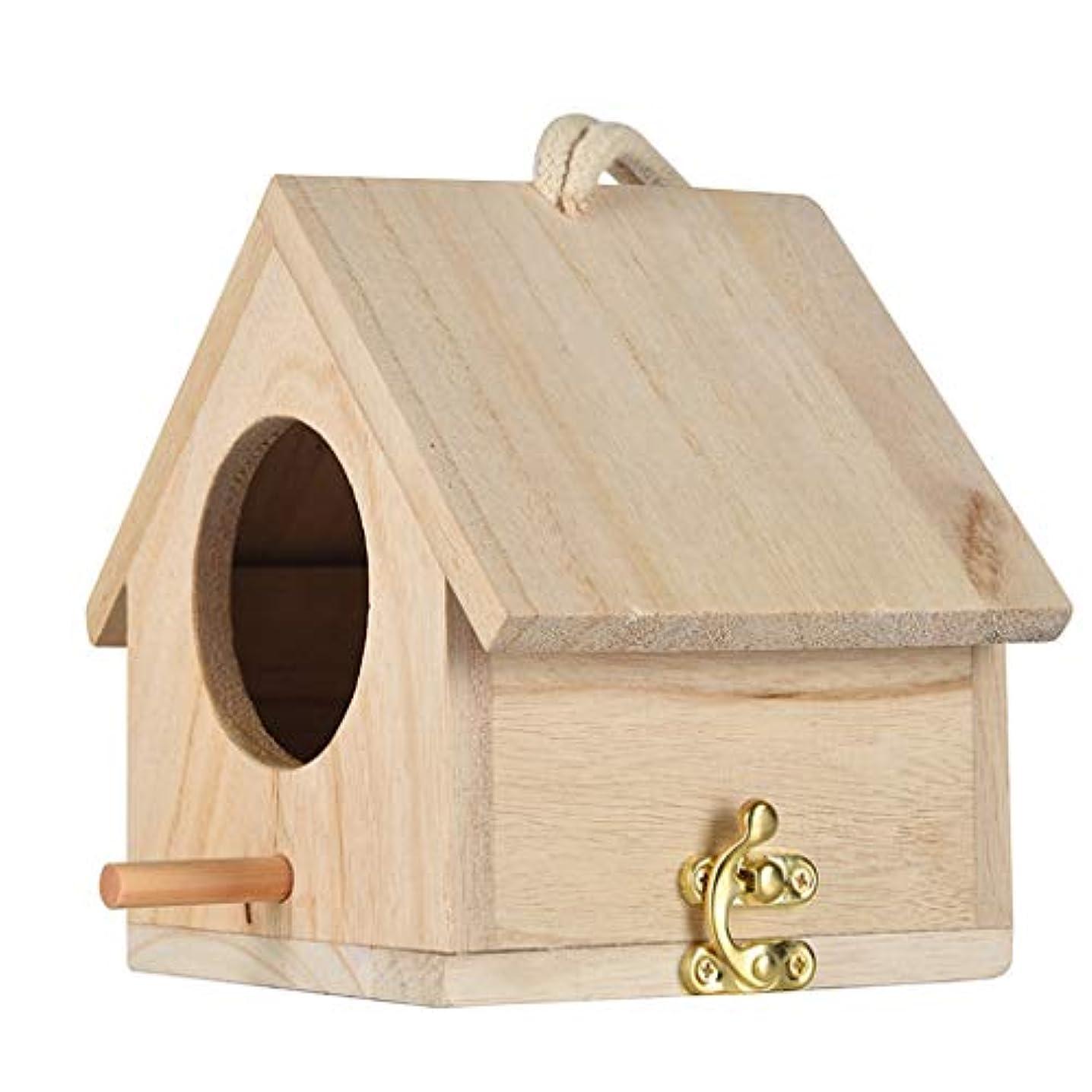 謝る広告主申請者Jun® 大きな巣巣の家鳥の家鳥の家鳥箱鳥箱木箱