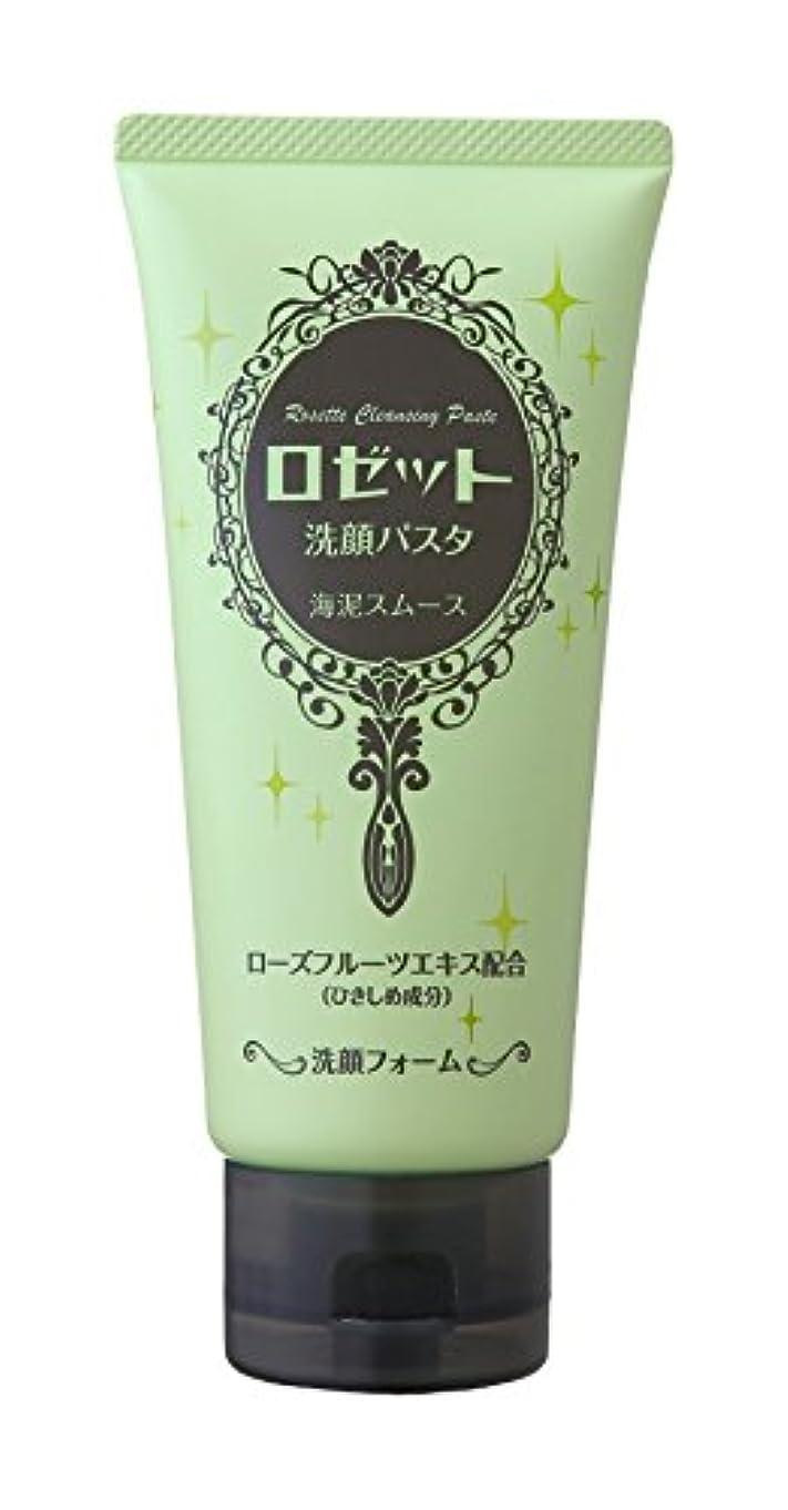 ラインナップ防ぐ苦しめるロゼット洗顔パスタ 海泥スムース 120g