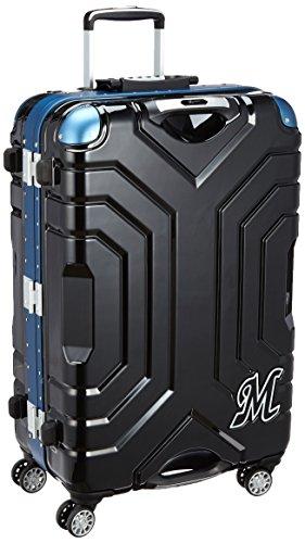 [シフレ] siffler スーツケース グリップマスター 87L 5.6kg ダブルキャスター コーナーパッド 千葉ロッテマリーンズオフィシャルモデル B5225T-67-CLM マリーンズBK/BL (マリーンズBK/BL)