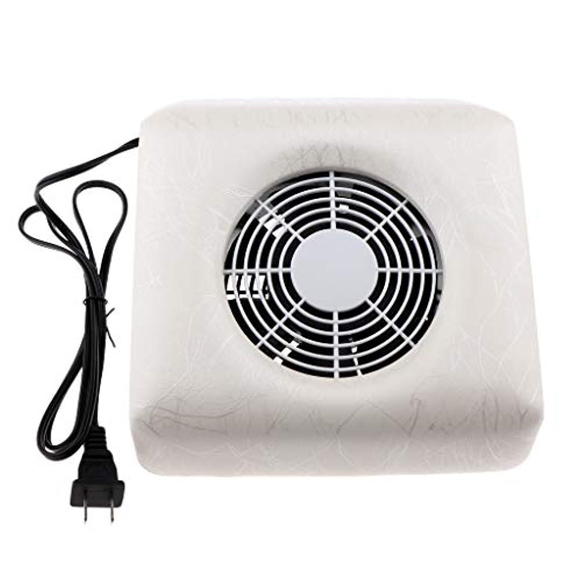 石外部雇用CUTICATE ネイルダストコレクター ネイルアート集塵機 掃除機 全4色 - 白