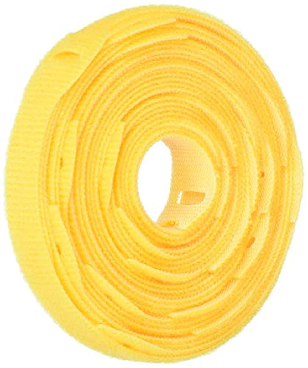 美徳合図ペダルRIP-TIE リップタイライト 12.7X203.2mm 黄 25本巻 Y-08-025-Y