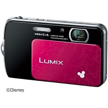 Panasonic デジタルカメラ ルミックス ディズニーモデル ブラック DMC-FP7D-K