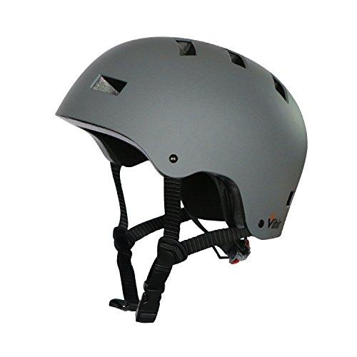 Vihir スポーツヘルメット アイススケート スケートボード 自転車 登山 クライミング 保護用ヘルメット サイズ調整可能 子供大人兼用 全4色