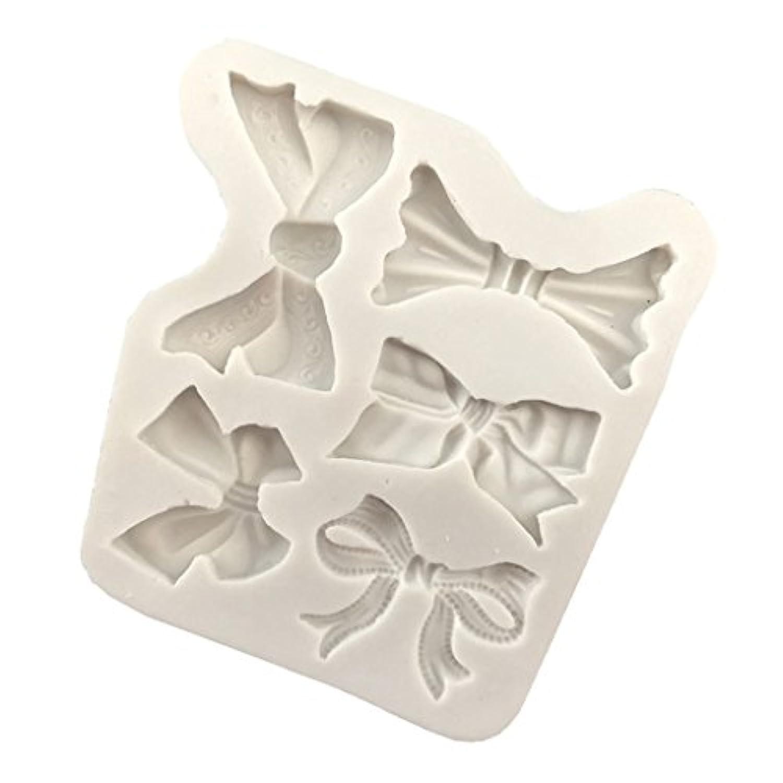 Prettyia シリコーン金型 モールド ちょう結びの形 DIYジュエリー 装飾