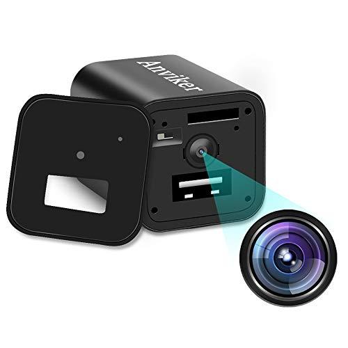 Anviker 1080P HD 隠しカメラ 小型盗撮防犯監視ビデオカメラ スパイカメラ 動体検知 日本語取扱