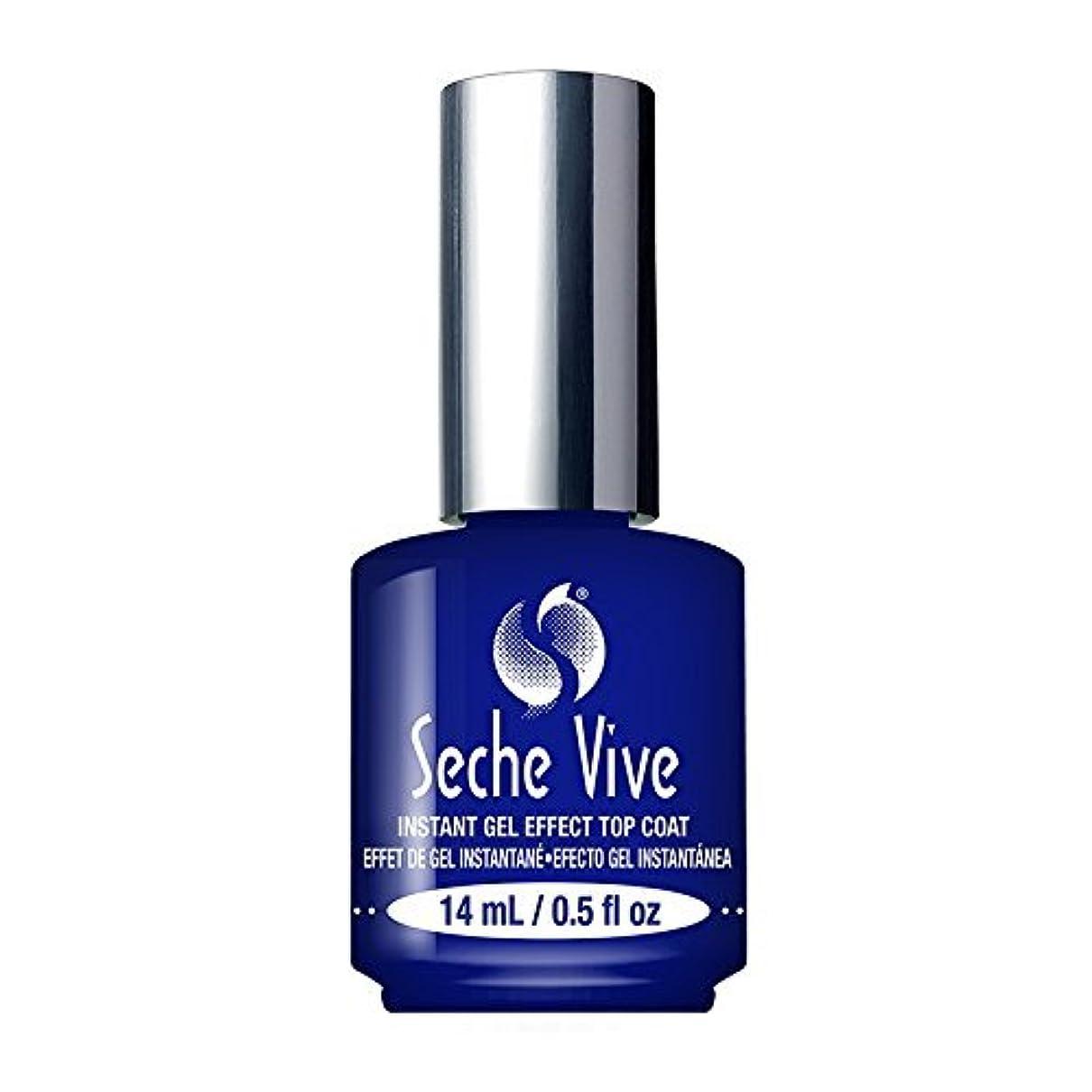 (6 Pack) SECHE Vive Instant Gel Effect Top Coat (並行輸入品)