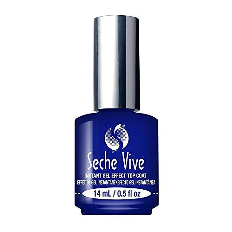 であることビート磁石(6 Pack) SECHE Vive Instant Gel Effect Top Coat (並行輸入品)