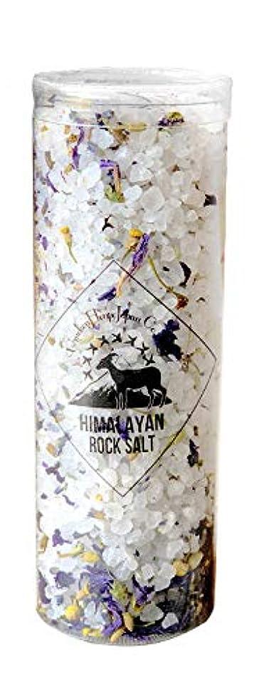 賞賛する宗教的な癒すヒマラヤ岩塩 バスソルト ホワイト ハーブ&スパ 300g(10回分)