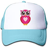 かわいい フクロウ 素敵 かわいい おもしろい ファッション 派手 メッシュキャップ 子ども ハット 耐久性 帽子 通学 スポーツ