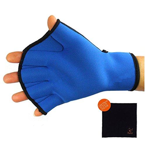 Cat Hand(キャット ハンド)パドル グローブ (ブルー, M)