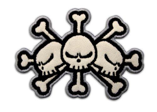 ワンピース 黒ひげ海賊団 ワッペン