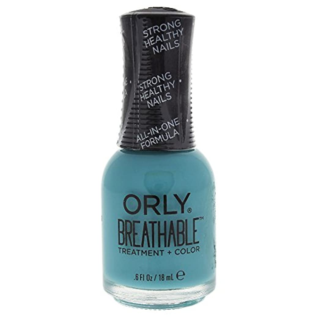 刺激するそれ副Orly Breathable Treatment + Color Nail Lacquer - Detox My Socks - 0.6oz / 18ml