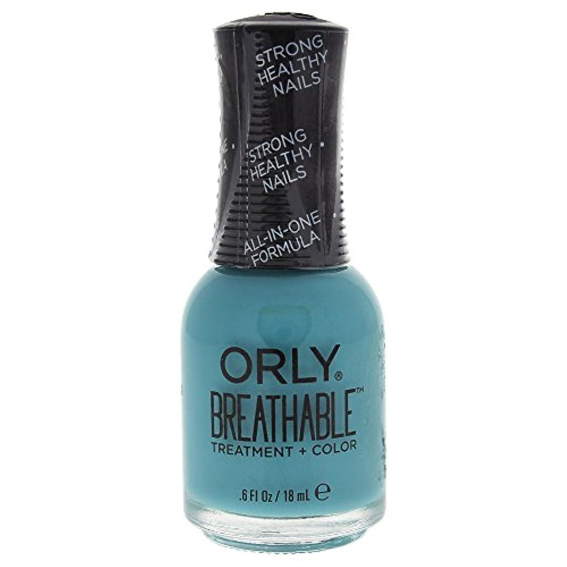 認知白鳥計画Orly Breathable Treatment + Color Nail Lacquer - Detox My Socks - 0.6oz / 18ml