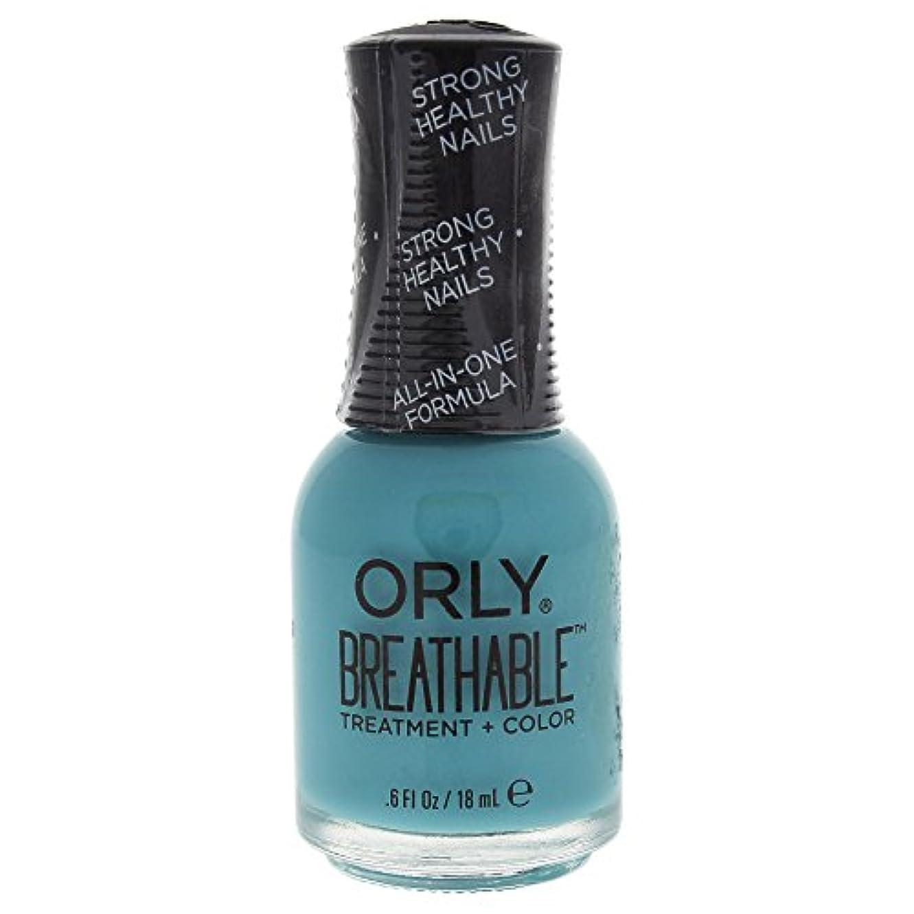マトン火星ユニークなOrly Breathable Treatment + Color Nail Lacquer - Detox My Socks - 0.6oz / 18ml