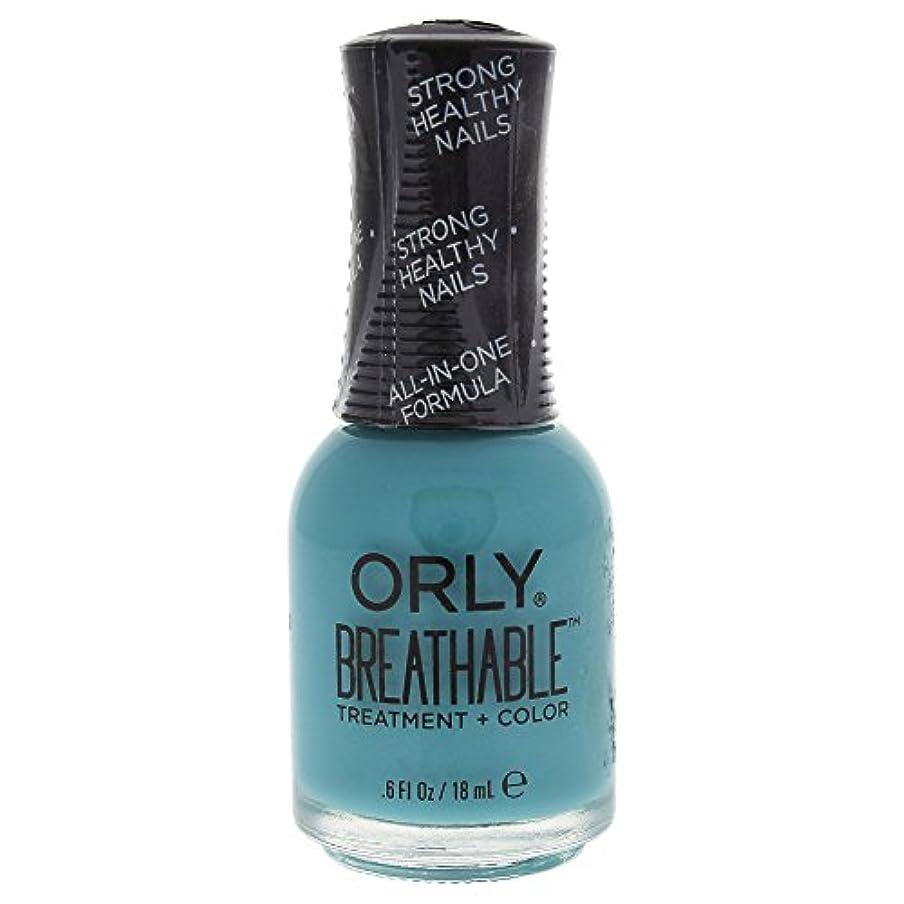 飾り羽ティーム杭Orly Breathable Treatment + Color Nail Lacquer - Detox My Socks - 0.6oz / 18ml