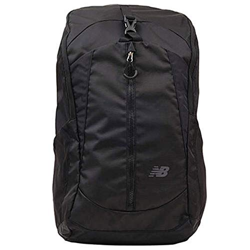 201073560ea88 ニューバランス(New Balance) MET 35L バックパック JABP8172 BK ブラック  日常使いにもフィットするスポーツスタイルのデザイン。出し入れしやすいフロントポケットを ...