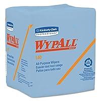 WYPALL L40 1/4-Fold Wiper, 12 1/2 x 13, 56/Box, 12/Carton (並行輸入品)