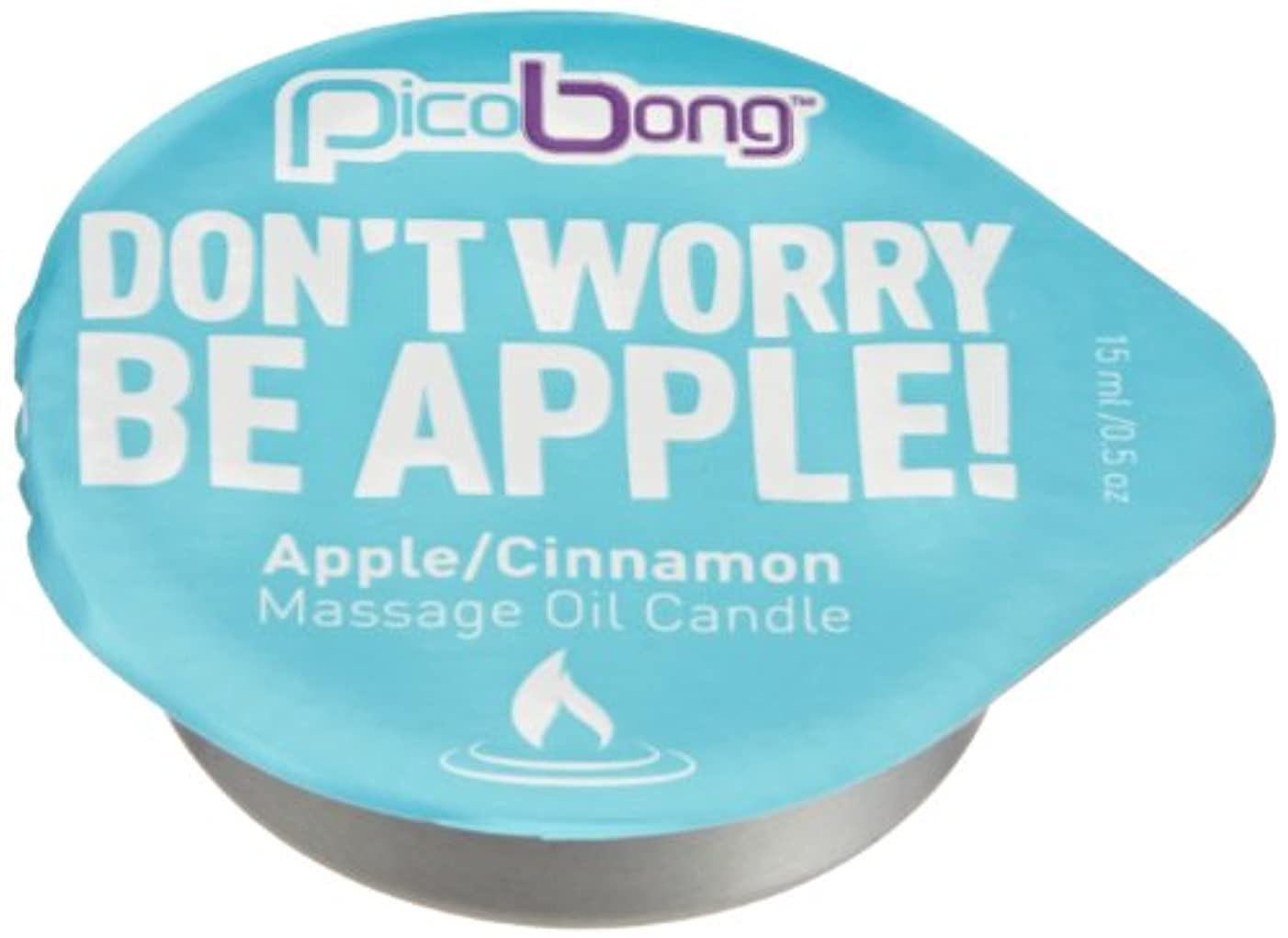 構造的槍有毒Picobong Massage Oil Candle (マッサージオイルキャンドル) アップル&シナモン
