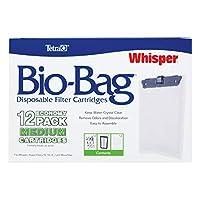 Tetra 26160 Whisper Bio-Bag Cartridge, Unassembled, Medium, by Tetra