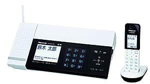 パナソニック デジタルコードレスFAX 子機1台付き スマホ連動 Wi-Fi搭載 ホワイト KX-PD101DL-W