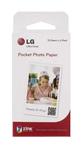LG モバイルプリンター「Pocket Photo」専用 Zink用紙 PS2203