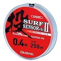 ダイワ(Daiwa) PEライン UVF サーフセンサー+Si II 250m 0.4号 マルチカラー