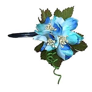 [粋花] Suika フラワークリップ 4061 ブルー