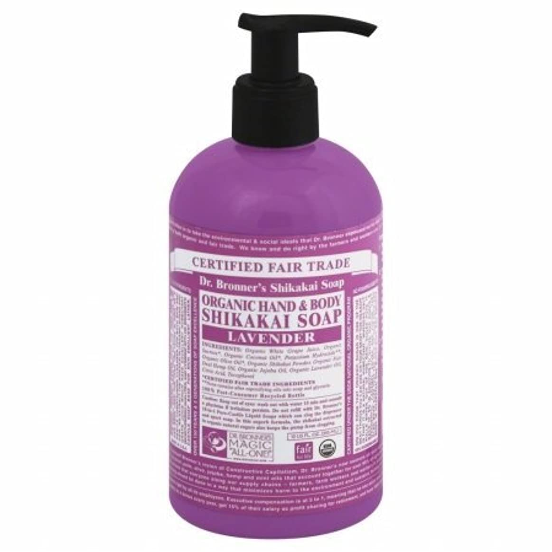 比較これら嵐のDr. Bronner's Hand Soap - Lavender - 12 oz by Dr. Bronner's