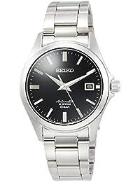 [セイコーウォッチ] 腕時計 メカニカル Mechanical(メカニカル) NET流通専用モデル ドレスライン 自動巻(手巻つき) 日本製 裏ぶたシースルーバック 日常生活用強化防水(10気圧) SZSB012 メンズ シルバー