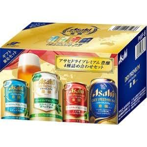 アサヒ ドライプレミアム 豊穣 4種詰め合わせセット 350ml 6本ギフトセット(4種・計6本入り) PWF-6